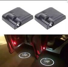 2Pcs Wireless Car LED Door Welcome Projector Logo Ghost Shadow Laser Light SET