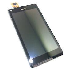 100% Original Sony Xperia L + Digitalizador Táctil Pantalla de Cristal Frontal + Pantalla LCD Negro