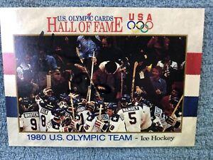 HERB BROOKS 1991 IMPEL #71 AUTOGRAPHED CARD USA HOCKEY