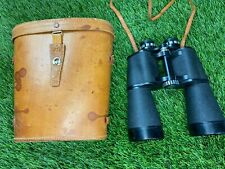 Vintage Tasco Imperial 7x50mm Binoculars in Case Leather Strap