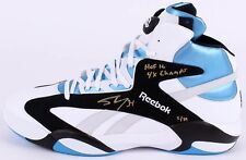 """SHAQUILLE O'NEAL Signed """"HOF '16"""" & """"4x Champ"""" Size 22 Rookie Shoe LE 34 STEINER"""