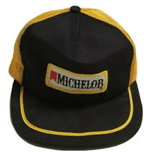 Vtg Michelob Trucker Hat Swingster Made In The USA Patch Cap Alcohol Beer Drink