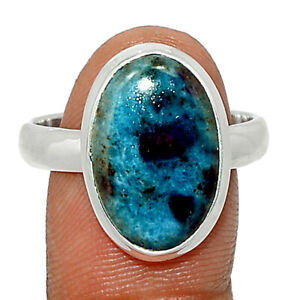 Ruby In Kyanite 925 Sterling Silver Ring Jewelry s.10 BR83848