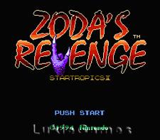 Star Tropics II 2 Zoda's Revenge - NES Nintendo Game