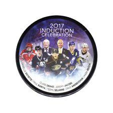 2017 Hockey Hall Of Fame Induction Hockey Puck - Kariya, Selanne, Recchi .....