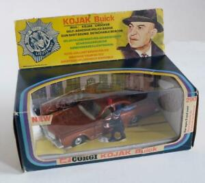 CORGI TOYS  (290) KOJAK'S BUICK  (BOXED)