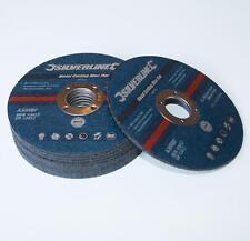 METAL CUTTING DISCS 115 X 3mm 22.2mm BORE  PACK OF 10 DIY