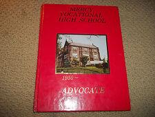 "1981 MERCY VOCATIONAL HIGH SCHOOL YEARBOOK PHILADELPHIA PA ""Advocate"""