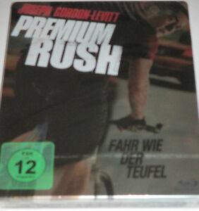 Premium Rush - Blu-ray/NEU/OVP/Action/Joseph Gordon-Levitt/Steelbook