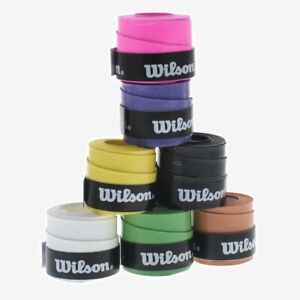 2 x Wilson Comfort Grip/Overgrip - Choice Of Colours - Free P&P