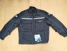 "RK Sports Mens Textile Motorcycle / Motorbike Jacket UK 40""- 42"" Chest (J5)"