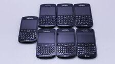 Lot Of 7 Fair Unlocked Verizon/T-Mobile/Att Blackberry 9360 & 9370 Qwerty Keypad