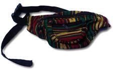 Holgados Rastafarian Rasta viaje bolsa de dinero cinturón de cadera Bum