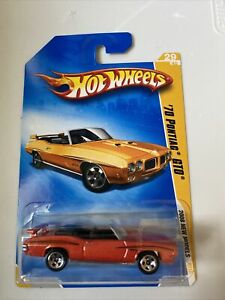 2008 Hot Wheels New Models '70 Pontiac GTO Convertible Orange