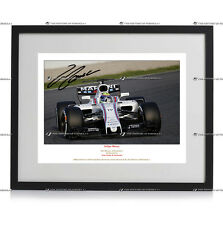FELIPE MASSA FORMULA 1 WILLIAMS AUTOGRAPH SIGNED