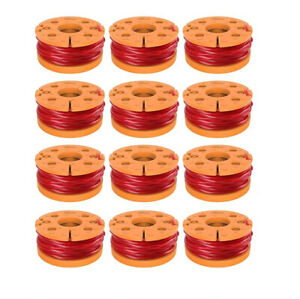 Replacement for Trimmer Spool Line and Worx Corded Electric Grass Line 12 PC
