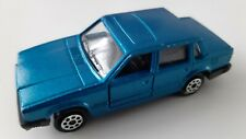 Majorette no.230 Volvo 760 GLE blue scale 1/61