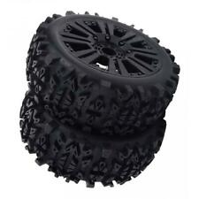 RC Car Buggy Short Course Wheels Tires 1:8 Car Ruber Tire Wheel Rim Tyres