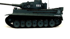 Armoured corp  Radio/Remote Control RC Tiger Tank with Sound Fires 6 mm BBS