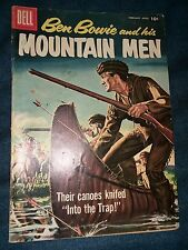 BEN BOWIE AND HIS MOUNTAIN MEN 14 G/vg 3.0 GREAT SILVER AGE DELL WESTERN COMIC