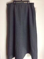 New Orvis Women's Gray Polyester  Skirt Size 16P NWT