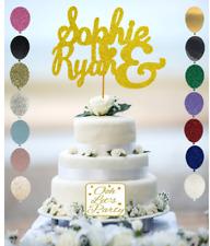 Reino Unido Feliz Cumpleaños Cake Topper Brillo Fiesta Plata Oro Rosa Azul