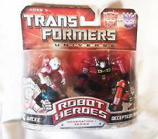 Universo De Transformers Robot Heroes Figuras Arcee & Rumble Hasbro