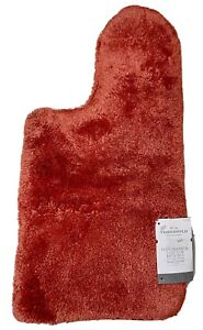 """Threshold Performance Contour Bath Rug Creole Red 20x21.50"""" Skid Fade Resistant"""