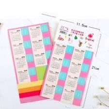 4Pcs Creative 2018-2019 Calendar Sticker Label Index Sticker Schedule Planner n