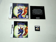 LEGEND OF SPYRO THE ETERNAL NIGHT complete in box with manual Nintendo DS game