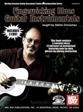 Fingerpicking Blues Guitar Instrumentals TAB Book +3CDs