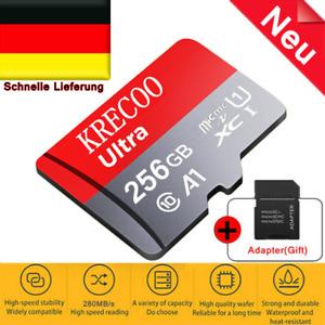KRECOO Micro SD SDXC Card Extreme  64GB 128GB 256GB Class 10 4K Memory Card  DE