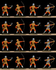 Starlux E.C.W. Cromwell's Regiment - professionally painted 60mm toy soldiers
