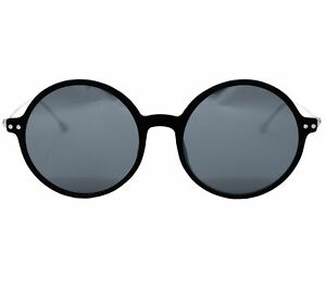 Ann Demeulemeester Sunglasses Round Black and Grey
