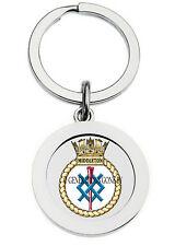 HMS MIDDLETON KEY RING (METAL)