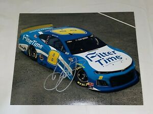 Dale Earnhardt Jr iRacing.COM FILTER TIME NASCAR #8 CHEVY HOF autographed photo