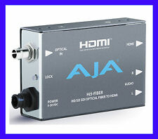 AJA MINI CONVERTER HI5-FIBER HD/SD-SDI over Fiber To HDMI Video and Audio  NEW