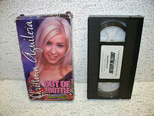 Christina Aguilera Out of the Bottle VHS Video Out of Print