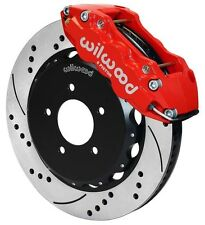 "WILWOOD DISC BRAKE KIT,FRONT,99-06 BMW E46,320i,323i,325i,328i,330i,14"",RED,DRLD"