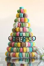 10 Tier Macaron Tower Macaron Stand for French Macarons by Cheerico Supplies.