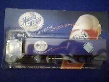 Modello modellino autocarro Camion della Birra MAN Maisel's Bianco pubblicità