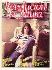 ZAIDA DEL RIO, Revista Revolucion y Cultura, 1988. Art Painting Magazine.