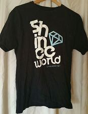 Korean Kpop Band SHINee World Vintage Glow in Dark Medium was a Special Order!