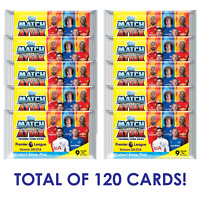2017-18 TOPPS MATCH ATTAX EPL PREMIER LEAGUE 20 PACKS (120 CARDS)