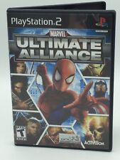 Marvel: Ultimate Alliance-PS2 (Sony PlayStation 2, 2006)