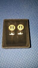 Bentley Stainless Steel Cuff Links #BL-993