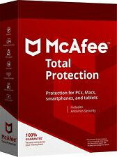 McAfee Total Protection Unlimited 2019 Subscription for One Year