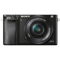 Sony Alpha a6000 24.3MP InterCH. Lens Camera with 16-50mm Power Zoom Lens