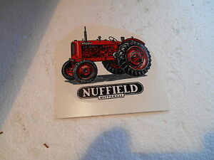 """1990s  3""""  SMOOTH SURFACE TRANSFER OF NUFFIELD UNIVERSAL TRACTOR"""