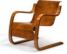 ALVAR AALTO | Cantilevered Lounge Chair, Model No. 31/42